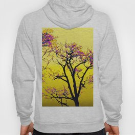 514 - Abstract Tree Sunset Design Hoody