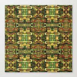 Circuit board v8 Canvas Print
