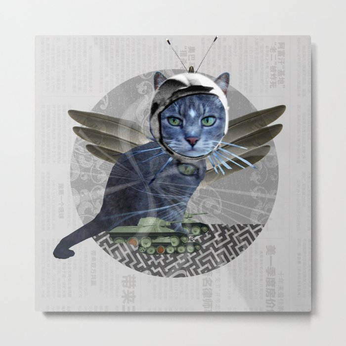 The Dream of the Dead Cat Metal Print