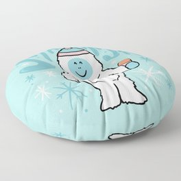 Stay Frosty Floor Pillow