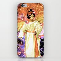 angels iPhone & iPod Skins featuring Angels by Saundra Myles