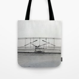 The Wright Brother's aeroplane Tote Bag