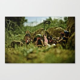 I have a new plan for a new hideout Canvas Print