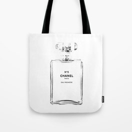 Fashion illustration sketch Tote Bag