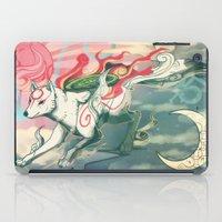 okami iPad Cases featuring Okami Amaterasu by Owlapin