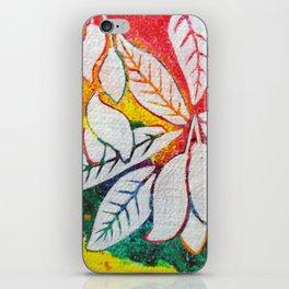 Leaves on the World Tree: Bengali Mango iPhone Skin