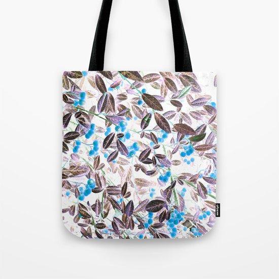 Blue Berries Tote Bag
