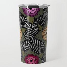 las flores Travel Mug