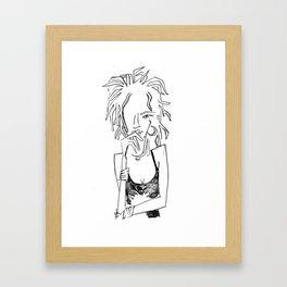 Ms. Lauryn Framed Art Print