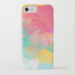 colored explosion iPhone Case