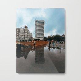 Mumbai City Art Metal Print