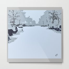 Winter crave Metal Print