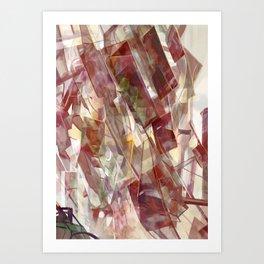 Construction of Light Art Print