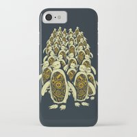 penguins iPhone & iPod Cases featuring penguins by Kiryadi
