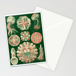 Ernst Haeckel Discomedusae Jellyfish Stationery Cards