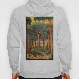 Viareggio woods and sea Hoody