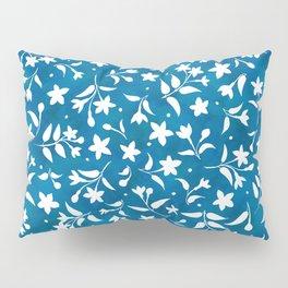 Hummingbird's Garden: wildflowers Pillow Sham
