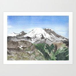 The Heart of Washington Art Print