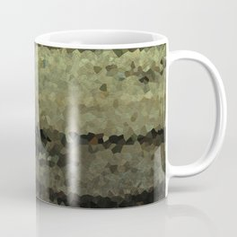 Wood and stone layers abstract pattern Coffee Mug