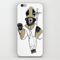 The Bear Pope iPhone & iPod Skin