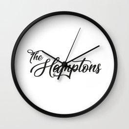 The Hamptons Wall Clock