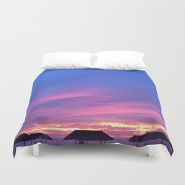 Blue & Purple Sunset Duvet Cover