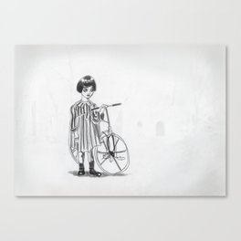 The little ghost. Canvas Print
