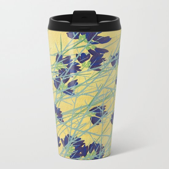 Smoke Tree Bloom Metal Travel Mug