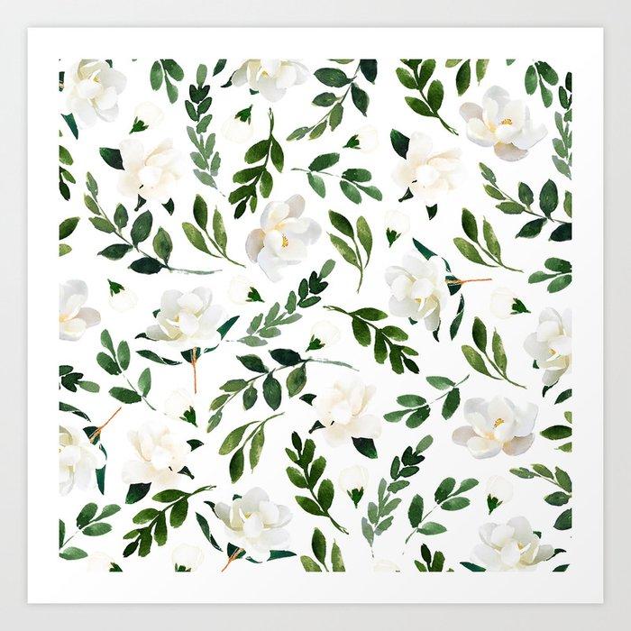 Magnolia Tree Kunstdrucke