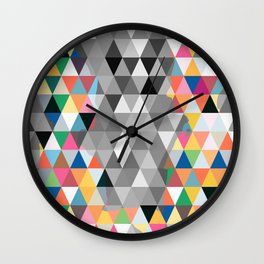 Many colors of being Wall Clock