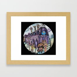 The band on the wall  Framed Art Print
