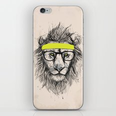 Hipster lion (light version) iPhone & iPod Skin