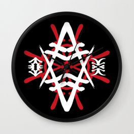 JAPANESE KANJI ART (AKIRA) by AKIRA Wall Clock