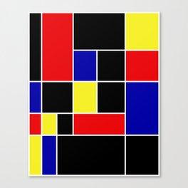Mondrian #49 Canvas Print