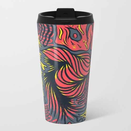 DECEMBLOB Metal Travel Mug