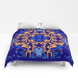 CA Fantasy Deep Blue-Color series #9 Comforters