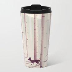 Serene Forest Metal Travel Mug