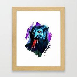 THE BRAINIAC Framed Art Print
