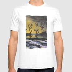 Forever lonely trees (The Danish Girl interpretation) White Mens Fitted Tee MEDIUM