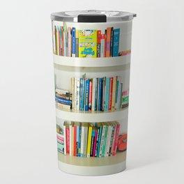 Bookshelf Travel Mug