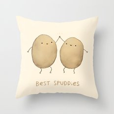 Best Spuddies Throw Pillow