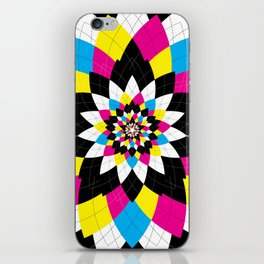 CMYK Argyle iPhone Skin