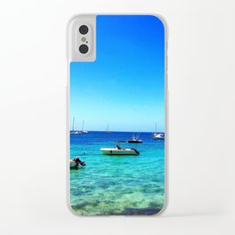 Vieques Floats Clear iPhone Case