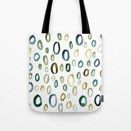 Painted O Tote Bag