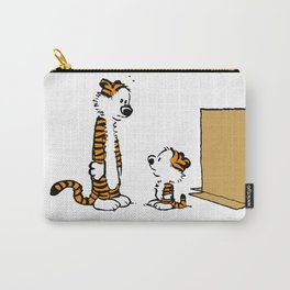 calvin and hobbes words fail me Carry-All Pouch