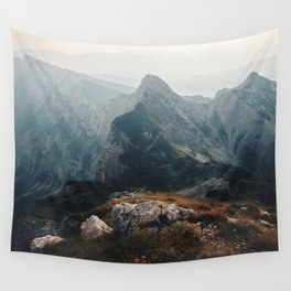 Morning on the edge Wall Tapestry