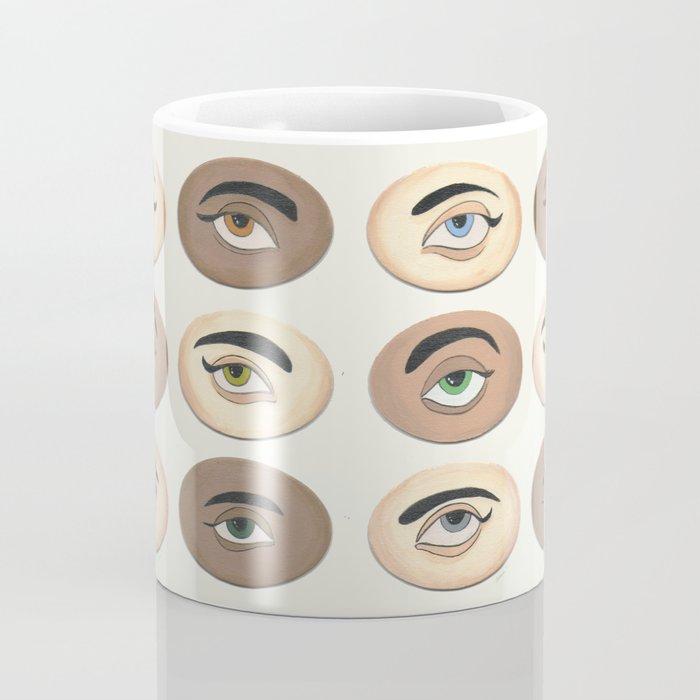 Lover's Eyes Coffee Mug
