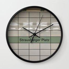 Strausberger Platz - Berlin Wall Clock