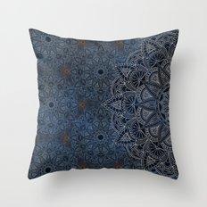 Mandala - Frozen Throw Pillow