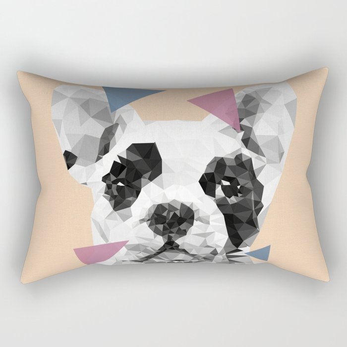 Frenchie Rectangular Pillow